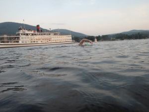 A familiar sight on Lake George.